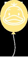 風船(黄)