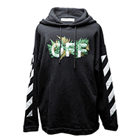 OFFWHITE-17SS DIAGFERNS HOODIE<br>